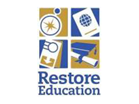 restore education logo